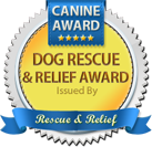 Dog Rescue & Relief Award